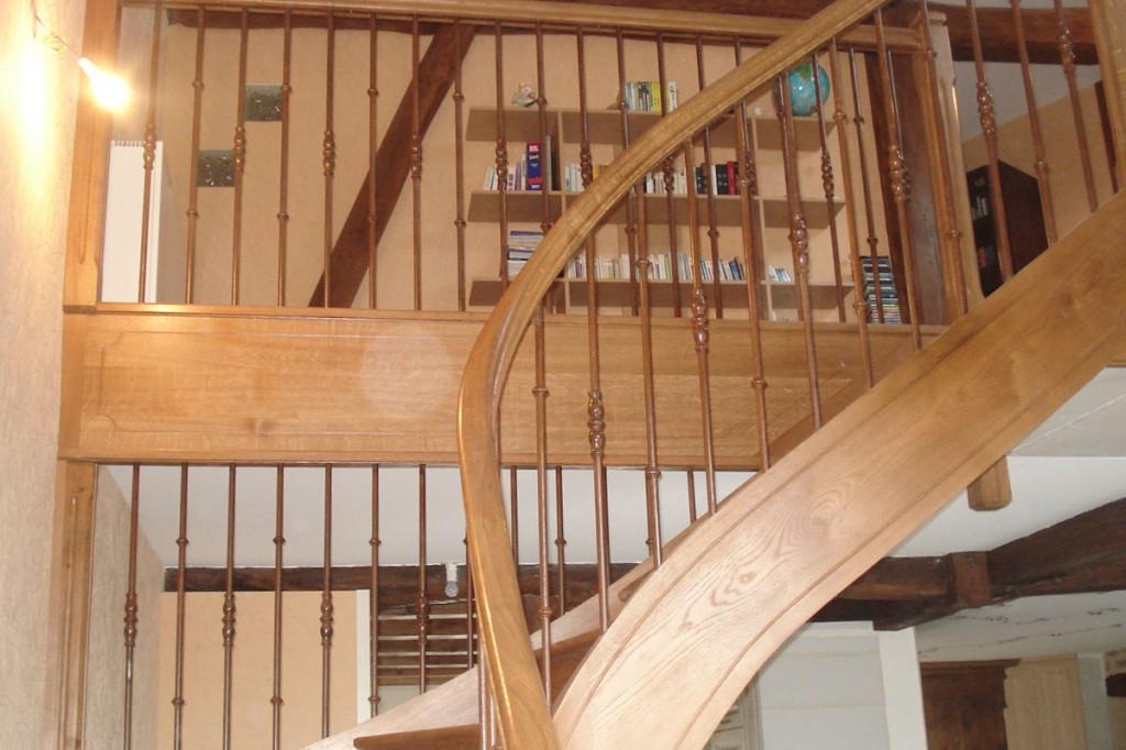 escalier-et-habillage-mezzanine